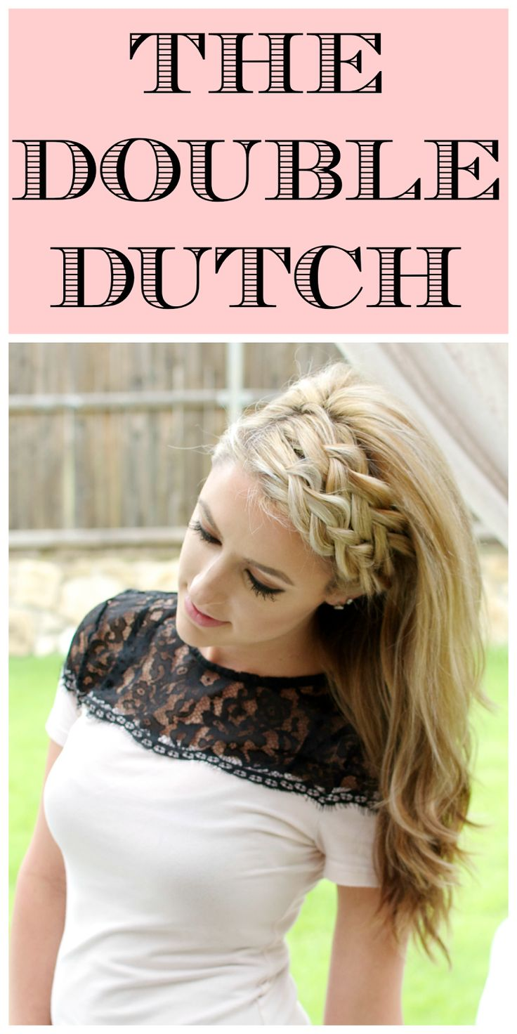 Hair Styles Ideas Double Dutch Braid Listfender Leading
