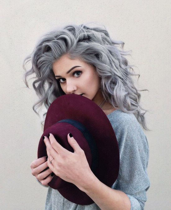 Hair Styles Ideas Grey Curly Dyed Hairstyle Ninjacosmico Com Listfender Leading Inspiration Magazine Shopping Trends Lifestyle More