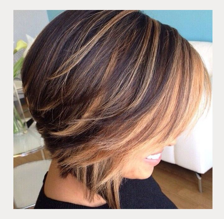Hair Styles Ideas Layered Inverted Bob 35 Medium Length