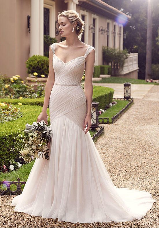 Wedding Dresses Fit N Flare Dress Has A Bodice With Light Ruching