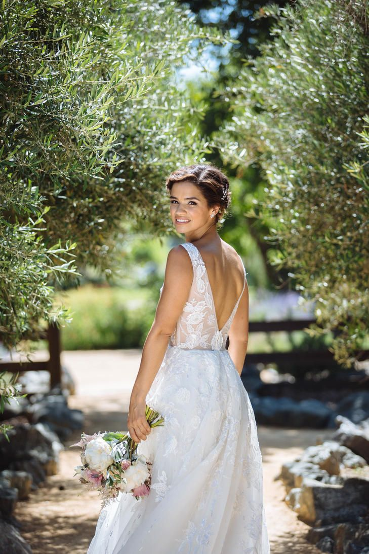 Wedding Dresses Jorge Manuel Wedding Dress With Deep V Back