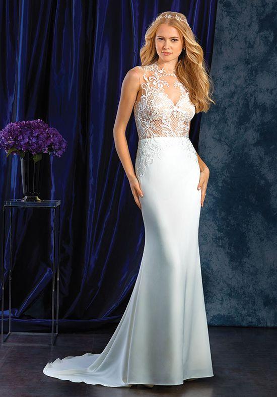 Wedding Dresses Tulle Crepe Wedding Dress Alfred Angelo