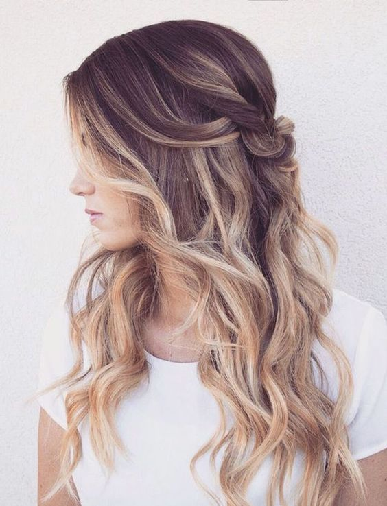 Magnificent Wedding Hairstyles Chic Long Wave Wedding Hairstyle Designed By Natural Hairstyles Runnerswayorg