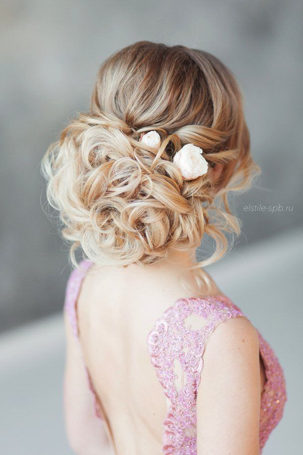 Wedding Hairstyles Curly Wedding Updo Hairstyle Listfender