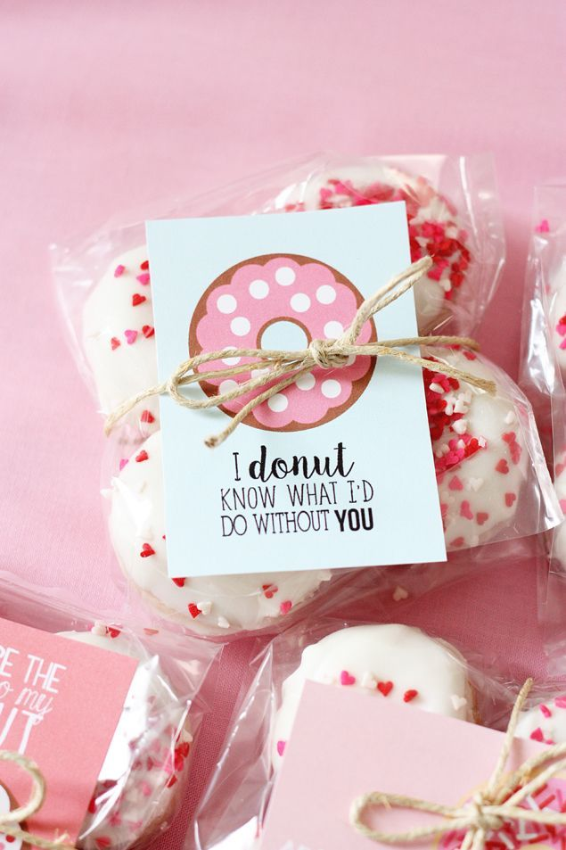 Best Ideas For Diy Crafts Valentine Donut Printables So Sweet