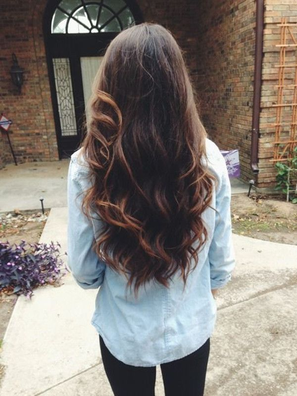 35 Visually Stimulating Ombre Hair Color For Brunettes