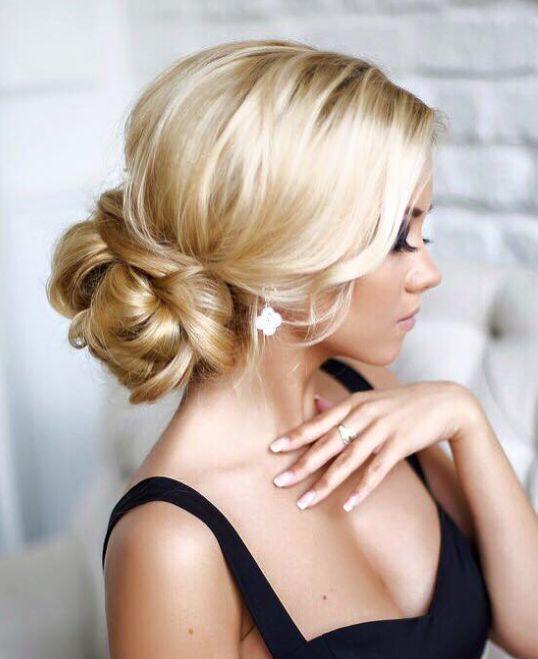 Hair Styles Ideas Elegant Chic Wedding Hairstyle Idea From Elstile