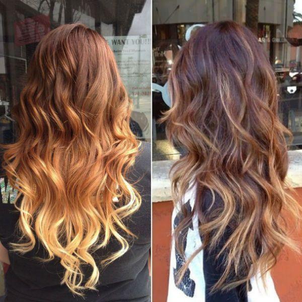 Hair Styles Ideas Golden Brown Ombre Hair With Caramel Highlight