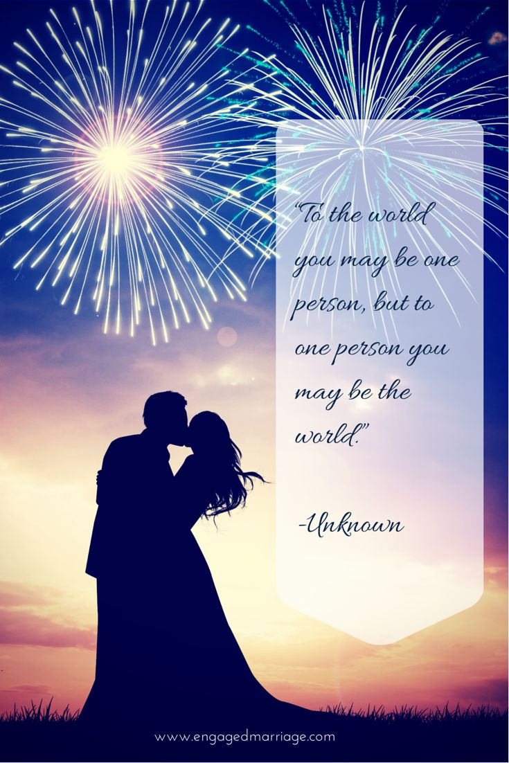 Love Quotes To The World You May Be One Person But To One Person