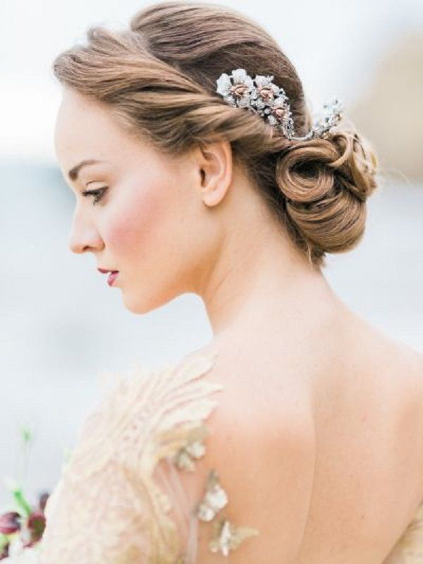 Wedding Hairstyles Grecian Wedding Updo Hairstyle With Headpiece