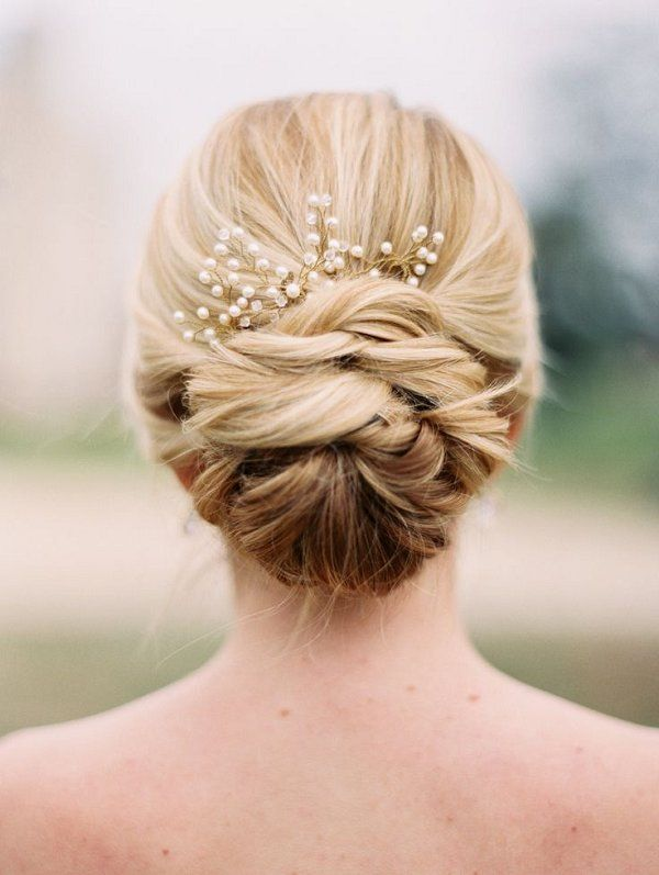 Wedding Hairstyles Wedding Updo Hair With Pearls Www