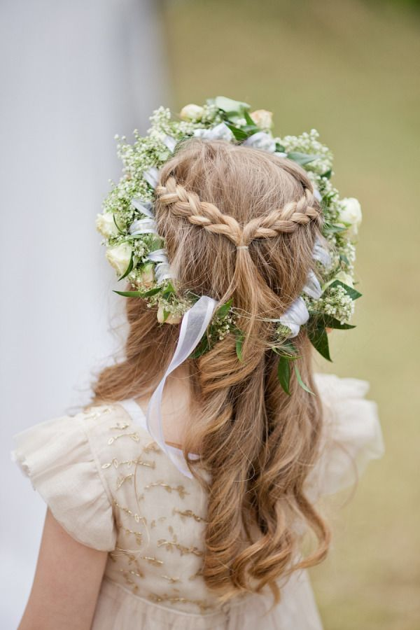 Description 30 Super Cute Little Hairstyles For Wedding