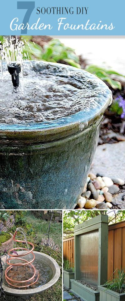 7 Soothing Diy Garden Fountains Lots Of Ideas And Tutorials
