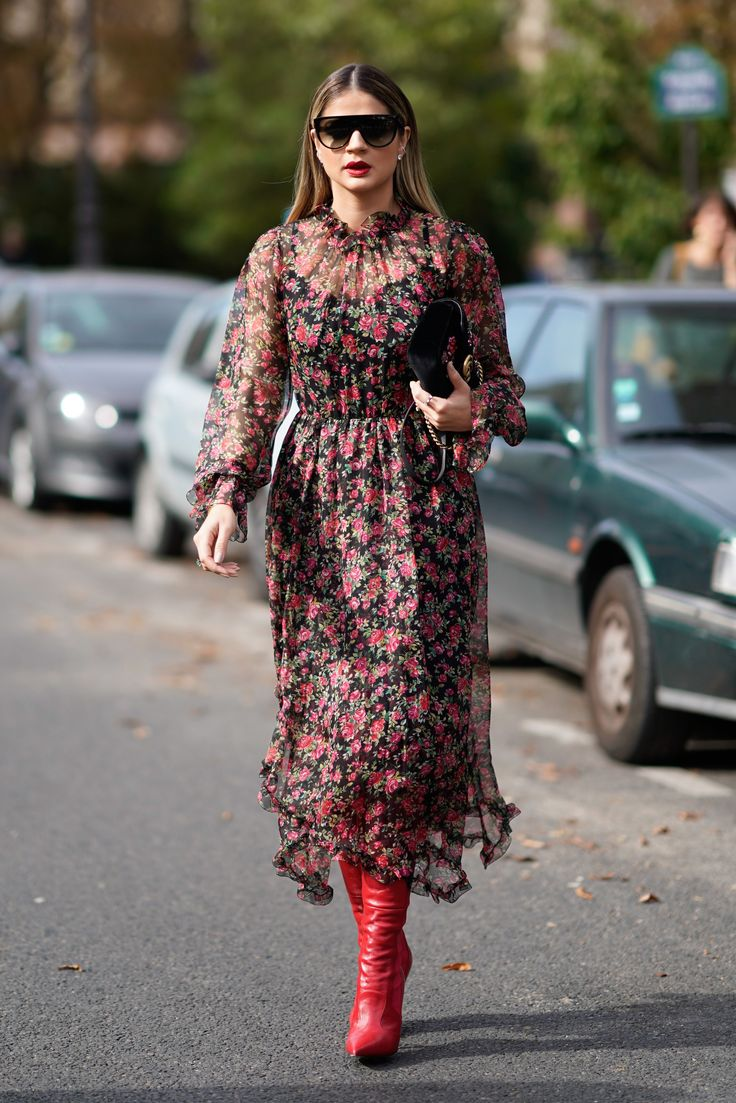 Life Hacks   Love this dress and boots combo for fall. Get all the ... ccf14d7eb