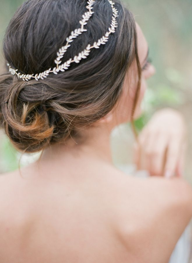 Wedding Hairstyles Greek Goddess Inspired Head Chain Www