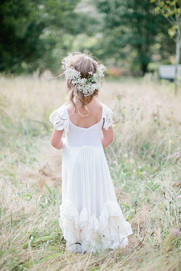 Wedding Hairstyles Rustic Wedding Ideas Flower Girl Hairstyle
