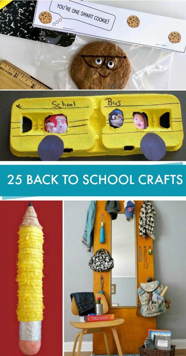 Best Ideas For Diy Crafts 25 Back To School Craft Ideas Crafts