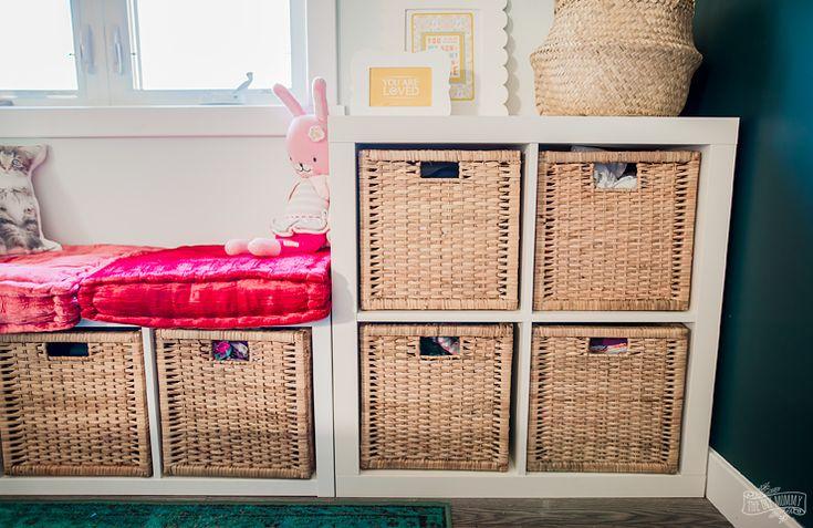 Diy Home Great Idea Combine Ikea Kallax Shelf Units To