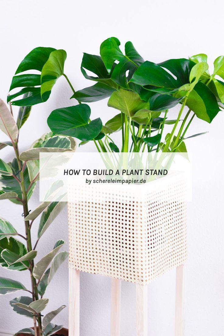 Diy Home Plant Stand Diy Idee Ich Zeige Euch Auf Dem Blog Wie