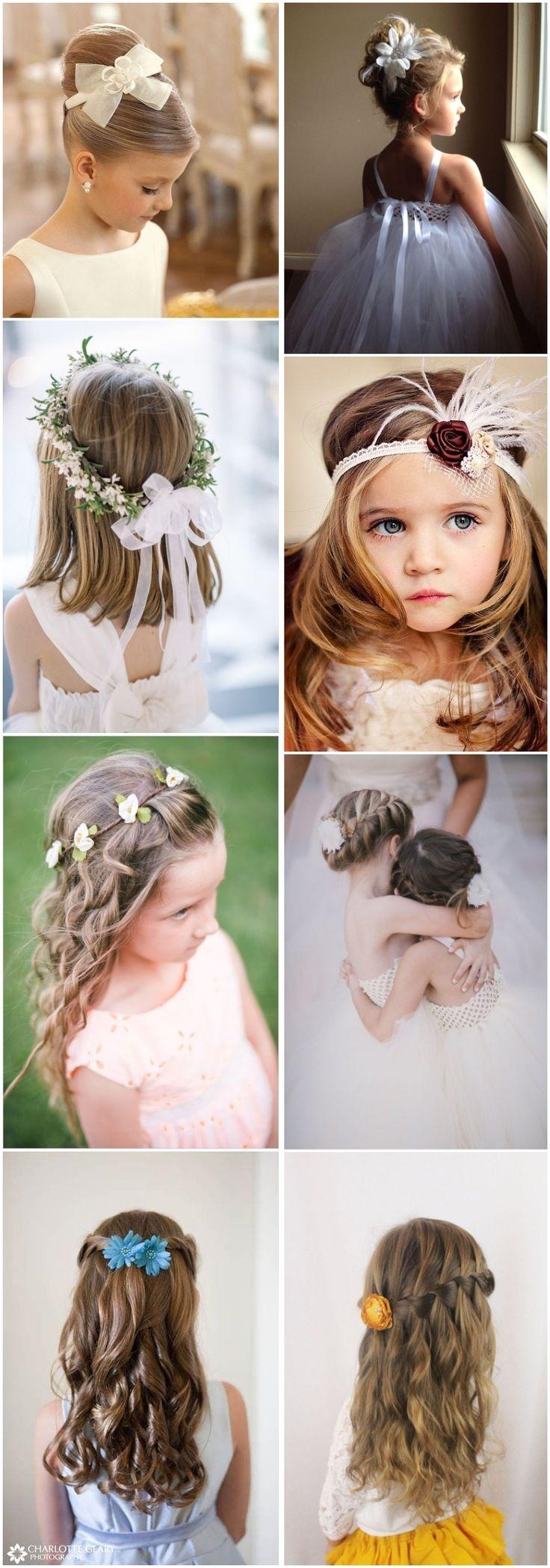 Wedding Hairstyles Cute Little Girl Hairstyles Updos Braids